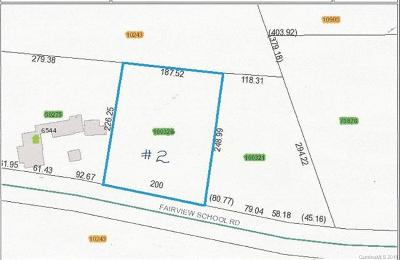 Residential Lots & Land For Sale: Fairview School Road #2
