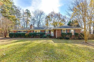 Charlotte Single Family Home For Sale: 2610 Mt Holly Huntersville Road