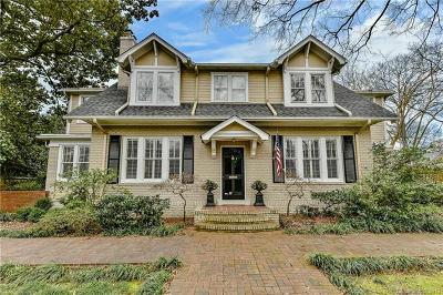 Charlotte Single Family Home For Sale: 1607 Brandon Road