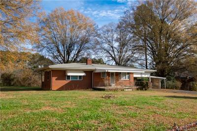 Kannapolis Single Family Home Under Contract-Show: 4756 Rainbow Drive