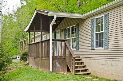Lake Lure, Chimney Rock, Bat Cave, Black Mountain, Saluda, Mill Spring, Columbus, Tryon, Rutherfordton, Union Mills Single Family Home Under Contract-Show: 356 Flat Creek Road