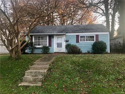 Charlotte Single Family Home For Sale: 704 Matheson Avenue