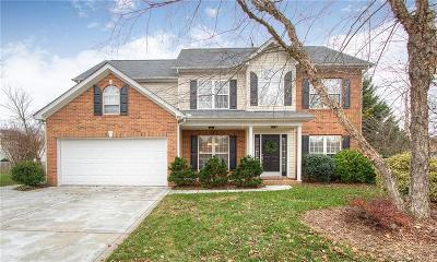 Indian Trail Single Family Home For Sale: 7002 Thicketty Parkway