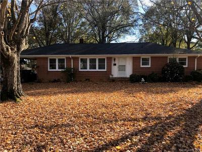Cherryville Single Family Home For Sale: 806 Washburn Street
