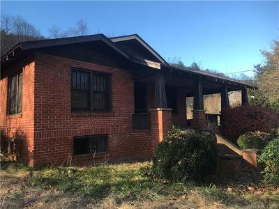 Candler NC Single Family Home For Sale: $115,000
