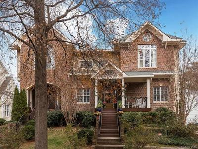 Myers Park Condo/Townhouse For Sale: 306 Hillside Avenue