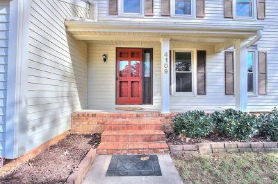 Charlotte Single Family Home For Sale: 4109 Waterford Drive #16