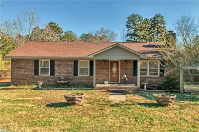 Matthews Single Family Home For Sale: 3008 Fincher Road