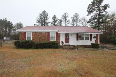 Anson County Single Family Home For Sale: 1543 Casons Old Field Road