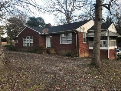 Gastonia NC Single Family Home For Sale: $105,000