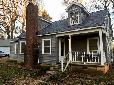 Charlotte Single Family Home For Sale: 120 Hugh Caldwell Road