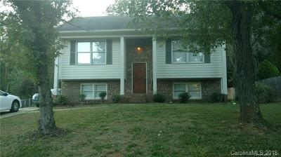Charlotte NC Single Family Home For Sale: $189,999