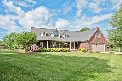 Concord Single Family Home For Sale: 2468 Twelve Oaks Road