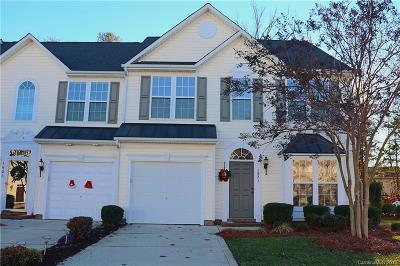 Gastonia Condo/Townhouse For Sale: 1821 Lookout Lane