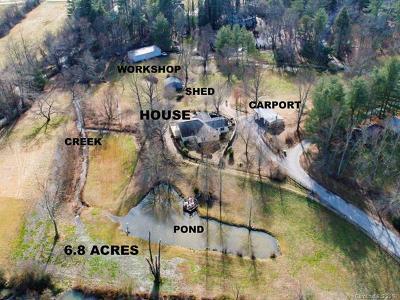 Fletcher Single Family Home For Sale: 308 Lower Christ School Road