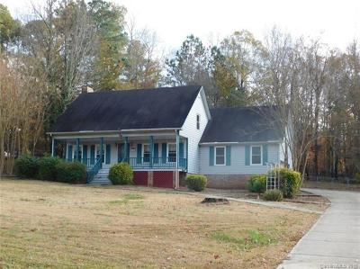 Wadesboro Single Family Home For Sale: 140 Highland Woods Road