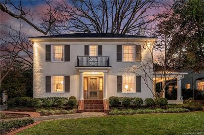 Myers Park Single Family Home For Sale: 1431 Queens Road W