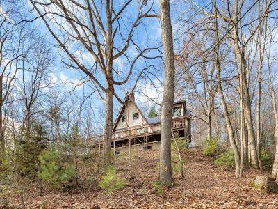 Candler Single Family Home Under Contract-Show: 39 Little Piney Mountain