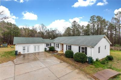 Single Family Home Under Contract-Show: 5823 Cane Creek Road