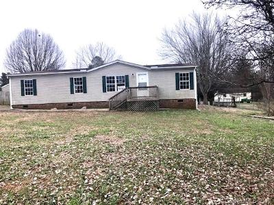 Troutman NC Single Family Home Under Contract-Show: $64,900