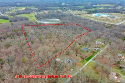 Indian Trail Residential Lots & Land Under Contract-Show: 1810 Sanctuary Lane