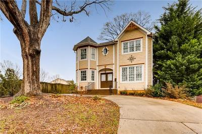 Charlotte Single Family Home For Sale: 323 Atherton Street