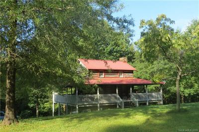 Lake Lure, Chimney Rock, Bat Cave, Black Mountain, Saluda, Mill Spring, Columbus, Tryon, Rutherfordton, Union Mills Single Family Home For Sale: 5983 Memorial Hwy Highway