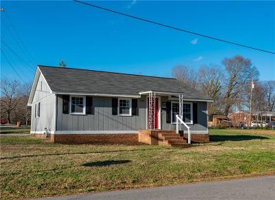 Lincolnton Single Family Home For Sale: 1001 E Gaston Street