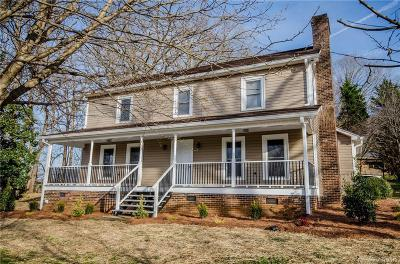 Statesville Single Family Home For Sale: 520 Old Mocksville Road
