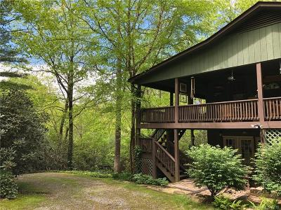 Transylvania County Single Family Home For Sale: 87 Cherokee Circle