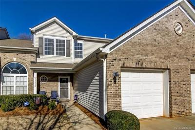 Pineville Condo/Townhouse For Sale: 11918 Stratfield Place Circle