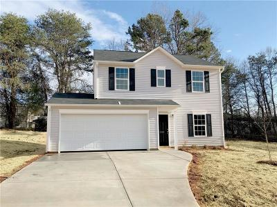 Catawba County Single Family Home For Sale: 1103 Atherstone Street NW