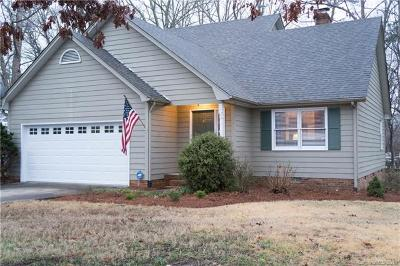 Gastonia Single Family Home For Sale: 5113 Hickory Grove Road