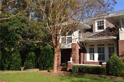 Charlotte Condo/Townhouse For Sale: 6304 Mission Place
