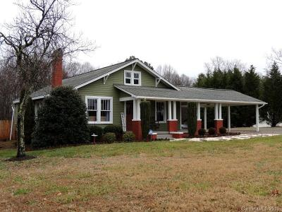 Iredell County Single Family Home Under Contract-Show: 1412 Old Mountain Road