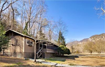 Lake Lure Village Resort Single Family Home For Sale: 128 Winding Creek Court #14A