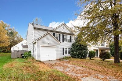 Charlotte Single Family Home For Sale: 917 Grassy Patch Lane