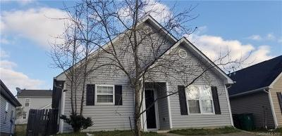Charlotte NC Single Family Home For Sale: $124,900