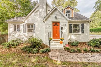 Charlotte Single Family Home For Sale: 1219 Pinecrest Avenue