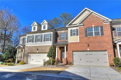 Charlotte Condo/Townhouse For Sale: 7032 Henry Quincy Way
