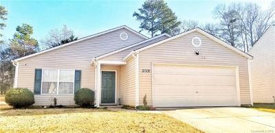 Charlotte Single Family Home For Sale: 12508 Dervish Lane