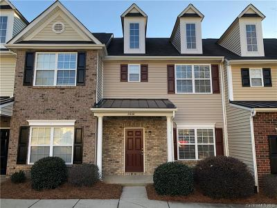 Charlotte NC Condo/Townhouse For Sale: $117,500