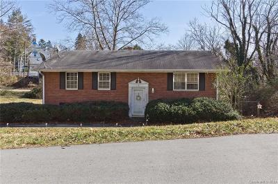 Weaverville Single Family Home Under Contract-Show: 28 Brown Street