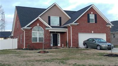 Cabarrus County Single Family Home For Sale: 12843 Hill Pine Road