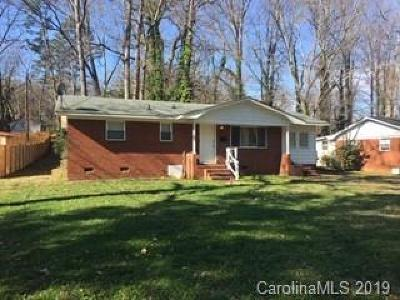 Charlotte NC Single Family Home For Sale: $250,000