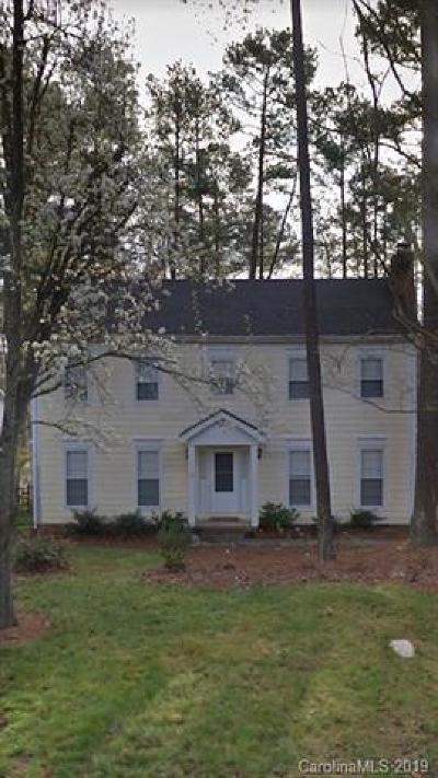 Charlotte Single Family Home For Sale: 2051 Trowbridge Court