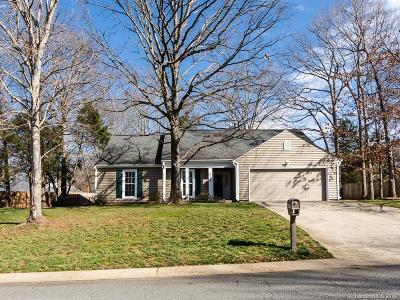 Charlotte Single Family Home For Sale: 8319 David Lee Lane
