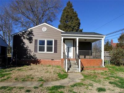 Charlotte Single Family Home For Sale: 1947 Academy Street