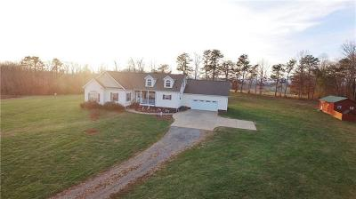 Single Family Home For Sale: 1292 Hopewell Church Road