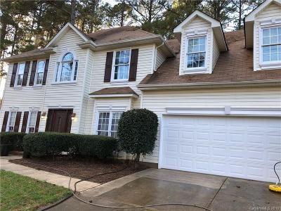 Huntersville Single Family Home Under Contract-Show: 8523 Cedar Hollow Lane